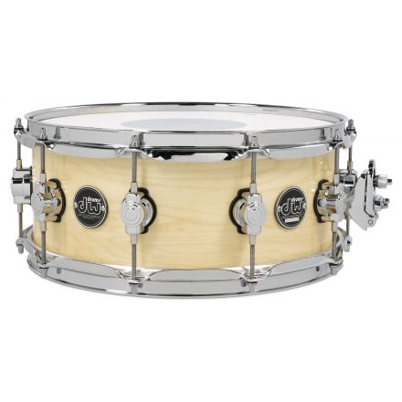 DW Performance Series Lacquer Snare Drum - 14x5.5 - Natural Lacquer