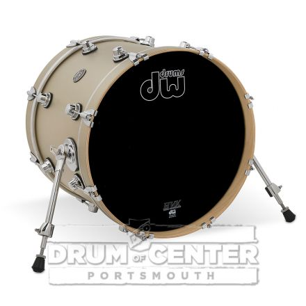 DW Performance Series Bass Drum 18x14 - Hard Satin Gold Mist