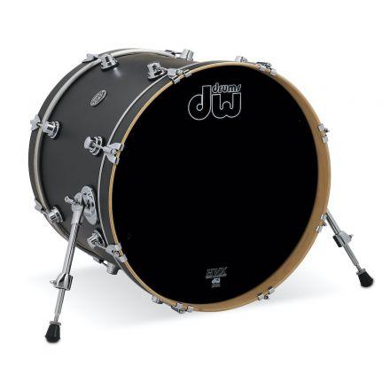 DW Performance Series Bass Drum 20x16 - Hard Satin Charcoal Metallic