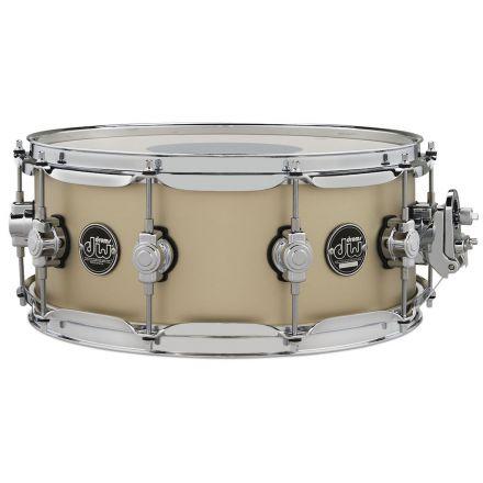 DW Performance Series 14x5.5 Snare Drum - Hard Satin Gold Mist