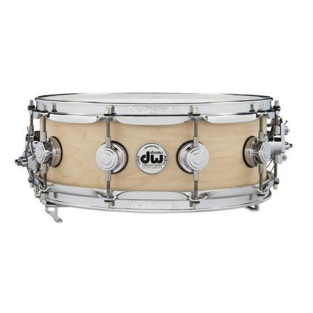 DW Collectors True-Sonic Pure Maple Snare Drum 14x5.5 Natural Satin