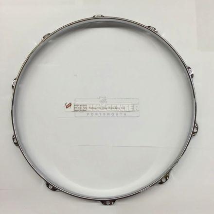 DW Drum Parts : Truehoop 15In 10 Lug Chrome Batter 3mm