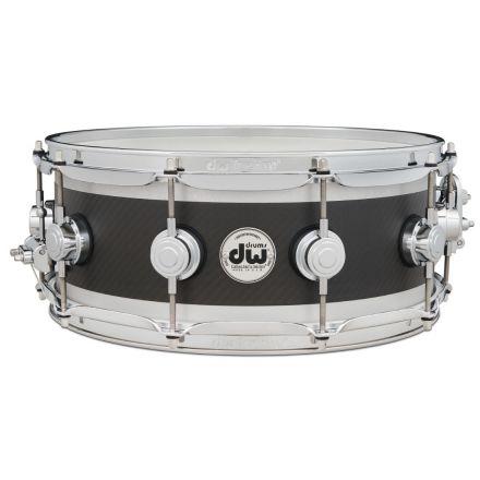 DW Ultralight Edge 14x5.5 Snare Drum - Carbon Fiber w/Chrome Hardware