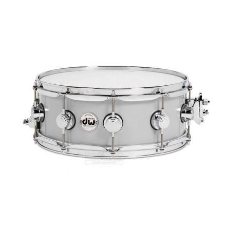 DW Collectors Thin Aluminum Snare Drum 14x5.5 Chrome Hardware