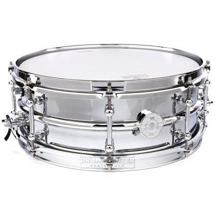 Dunnett Classic 2N Chrome Over Brass Snare Drum 14x5.5