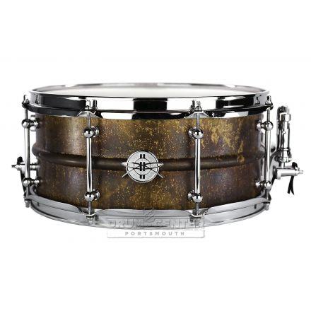 Dunnett Classic 2N Antique Brass Snare Drum 14x6.5