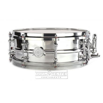 Dunnett Classic 2N Modeling Aluminum Snare Drum w/Polished Die Cast Hoops - 14x5.5