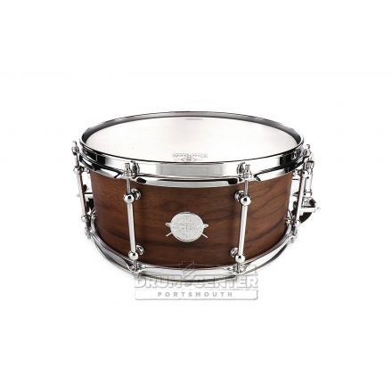 Dunnett Classic MonoPly Walnut Snare Drum 14x6.5 Satin Natural