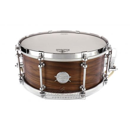 Dunnett Classic MonoPly Walnut Snare Drum w/Cold Rolled Hoops - 14x6.5