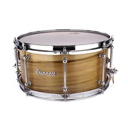 Dunnett Classic Dreamtime Jarrah Snare Drum 14x7 Blackheart Veneer