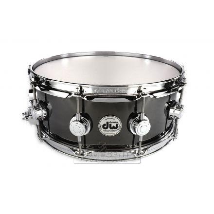 DW Collectors Black Nickel Over Brass Snare Drum 14x5.5 - B-Stock Deal!