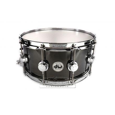 DW Collectors Black Nickel Over Brass Snare Drum 14x6.5 - B-Stock Deal!