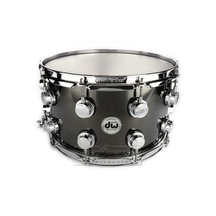 DW Collectors Black Nickel Over Brass Snare Drum 14x8 - B-Stock Deal!