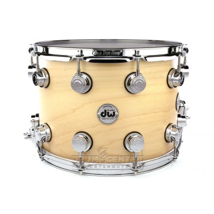 DW Collectors Maple Snare Drum 14x10 Satin Natural