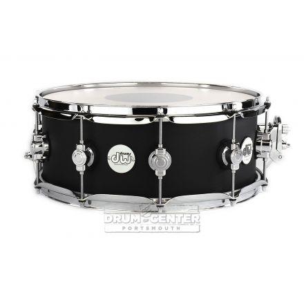 DW Design 14x5.5 Snare Drum - Black Satin