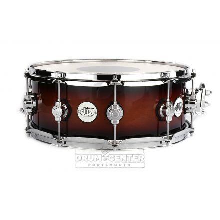 DW Design 14x5.5 Snare Drum - Tobacco Burst