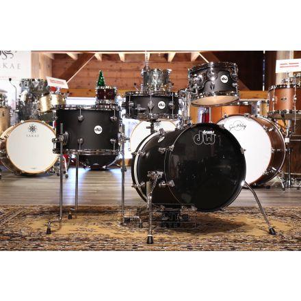 DW Design Mini Pro 4pc Drum Set Black Satin