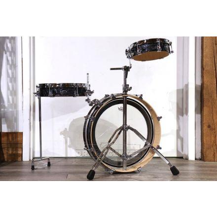 DW Performance 3pc Low Pro Drum Set Black Diamond