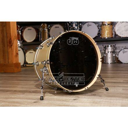 DW Performance Series Bass Drum 22x14 - Hard Satin Gold Mist