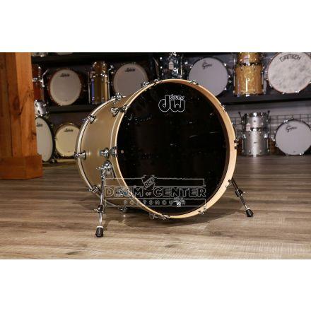 DW Performance Series Bass Drum 22x18 - Hard Satin Gold Mist