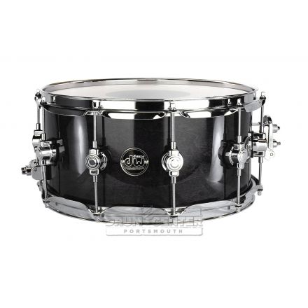 DW Performance Series Lacquer Snare Drum - 14x6.5 - Ebony Stain