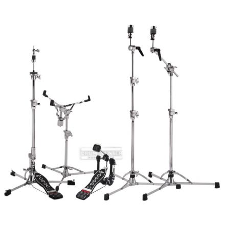 DW 6000 Hardware Pack with 2 Cymbal Stands & Chain Drive Pedal