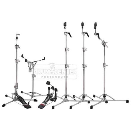 DW 6000 Hardware Pack with 3 Cymbal Stands & Chain Drive Pedal