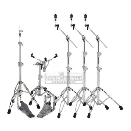 DW 9000 & MDD Hardware Pack with Single MCD Chain Drive Pedal