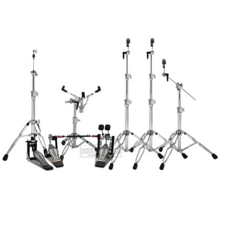 DW 9000 Touring Drummers Hardware Pack w/Double 9000 Pedal