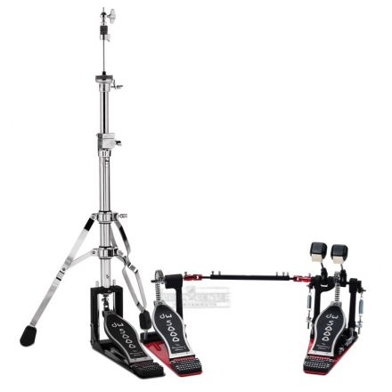 DW 5000 Double Bass Drum Pedal & Hi Hat Stand Combo