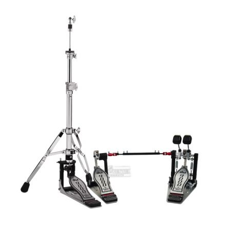 DW 9000 Double Bass Drum Pedal & Hi Hat Stand Combo