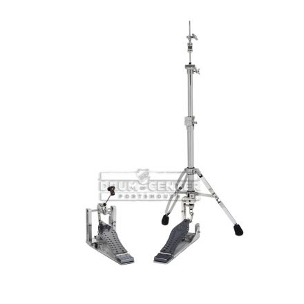 DW 9000 & MDD Pedal and Hi Hat Stand Combo with Single MCD Chain Drive Pedal