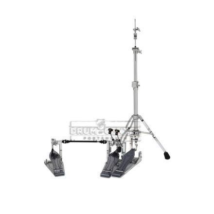 DW 9000 & MDD Pedal and Hi Hat Stand Combo with Double Chain Drive Pedal