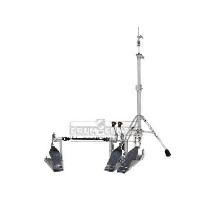 DW 9000 & MDD Pedal and Hi Hat Stand Combo with Double Direct Drive Pedal