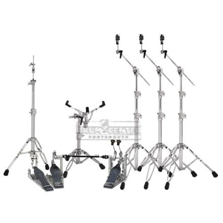 DW 9000 & MDD Hardware Pack with Double Direct Drive Pedal