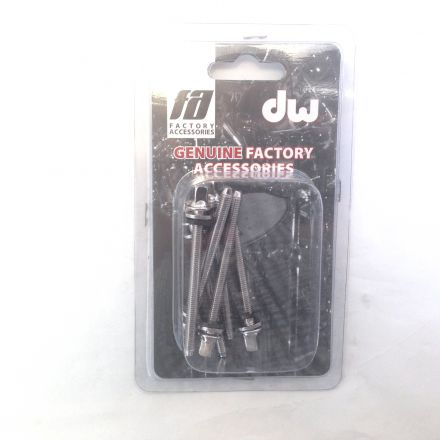 DW Accessories : Chrome Tension Rod M5-.8 X 2.25 In (6Pk)