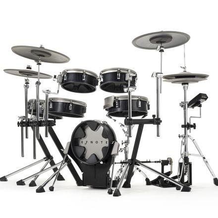 EFNOTE 3X Electronic Drum Set - Black Oak