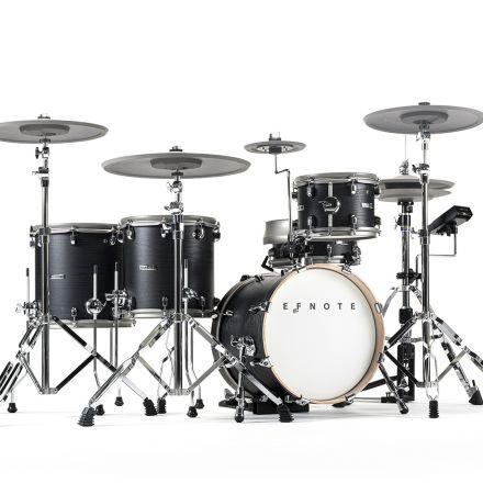 EFNOTE 5X Electronic Drum Set - Black Oak