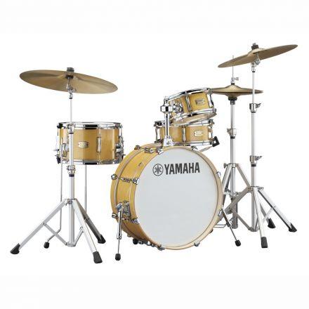 Yamaha Stage Custom Hip 4pc Drum Set 20/13/10/13 - Natural Wood
