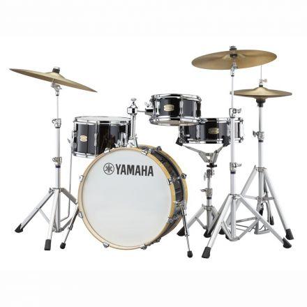 Yamaha Stage Custom Hip 4pc Drum Set 20/13/10/13 - Raven Black