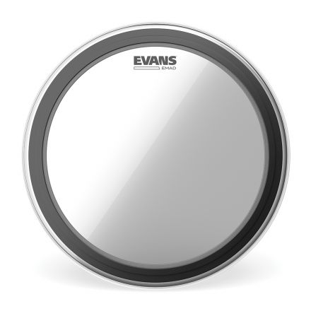Evans EMAD Clear Bass Drum Head, 20 Inch