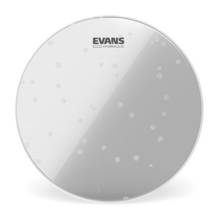 Evans Hydraulic Glass (Clear) Bass Drum Head, 22 Inch