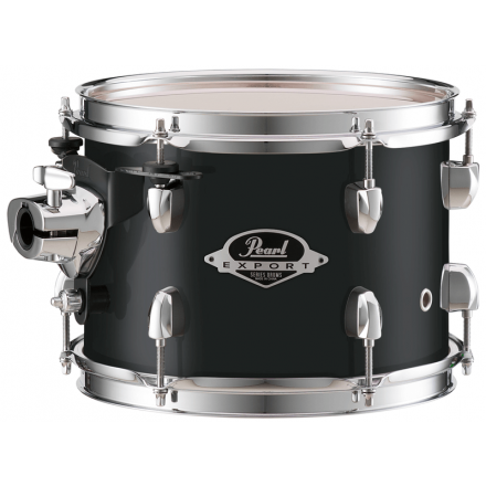 """Pearl Export Lacquer 12""""x8"""" Tom - Black Smoke"""