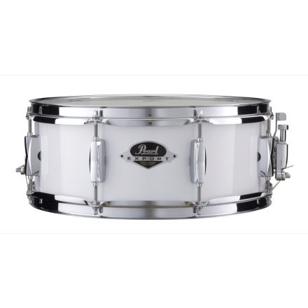 Pearl Snare Drums : Export Series 14x5.5 Snare Drum- Pure White