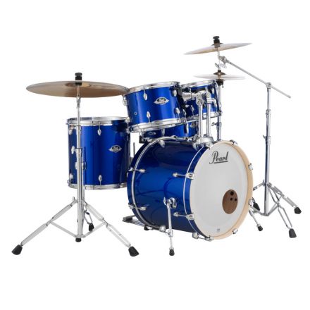 Pearl Export 5pc. Drum Set w/Hardware Pack - High Voltage Blue