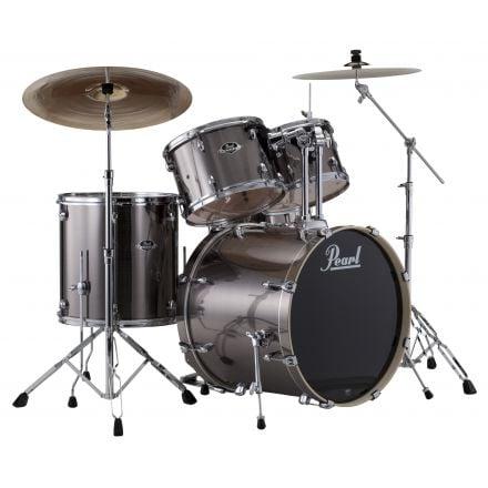 Pearl Export 5pc. Drum Set With Hardware - Smokey Chrome