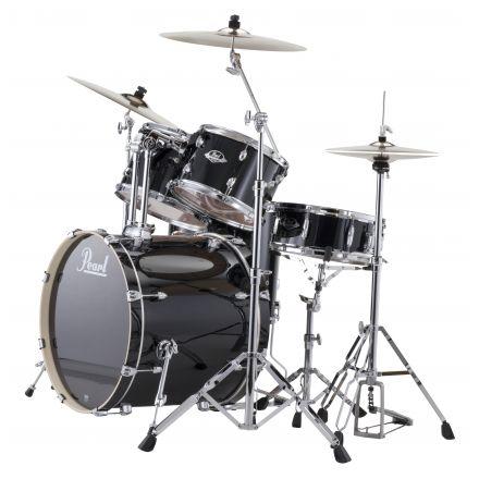 Pearl Export 5pc. Drum Set w/Hardware - Jet Black