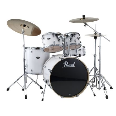 Pearl Export 5pc. Drum Set w/Hardware - Pure White