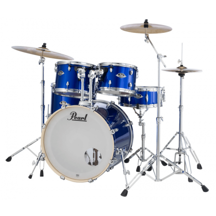 Pearl Export 5pc. Drum Set With Hardware - High Voltage Blue