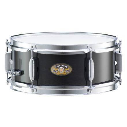 Pearl 12x5 FireCracker Snare Drum, 8-py Poplar shell- Ebony Mist